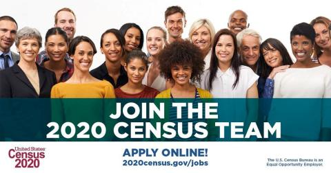 Join 2020 Census Team